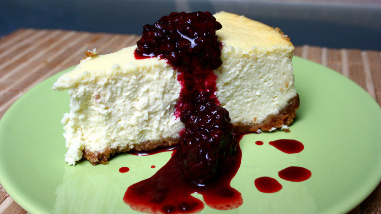 Dish Of The Day: New York cheesecake
