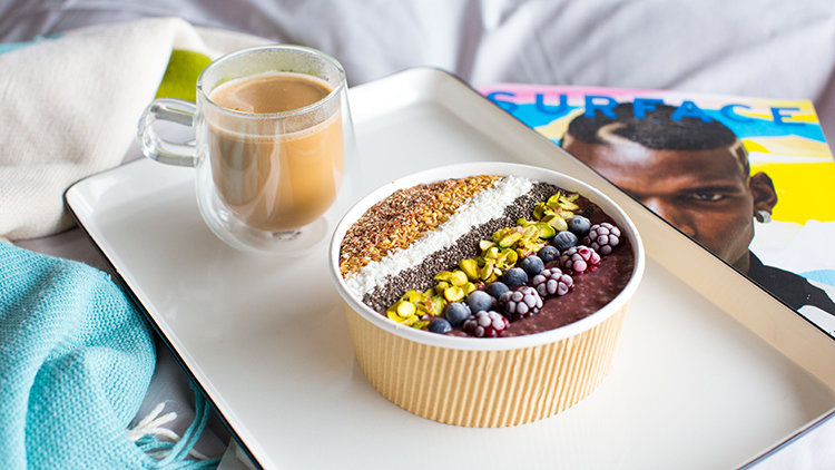 4 awesome acai bowl brought to your door in Sydney