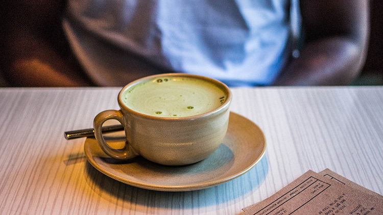 The healthy snack - matcha will satisfy your cravings