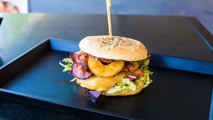 Pineapple is Australia's newest burger topping craze